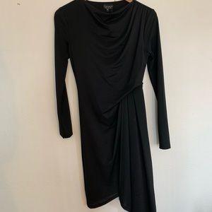 Top shop asymmetrical long sleeve dress size 4 NWT